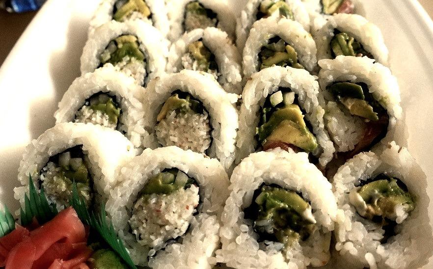 Sushi at Sushi California