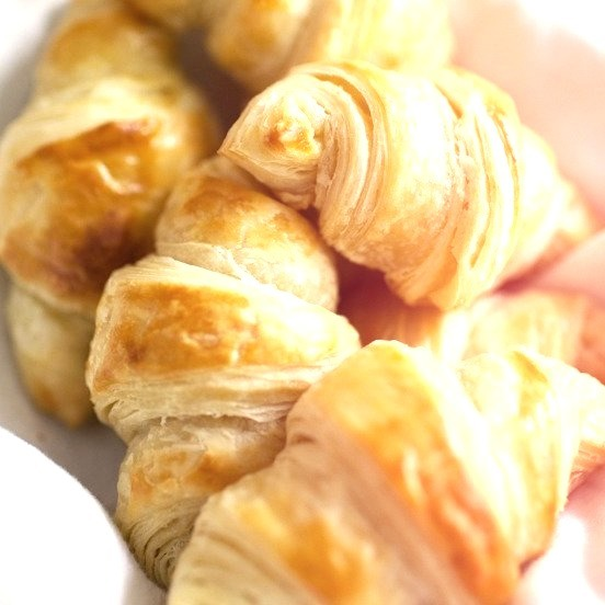Buttery Flaky Croissants