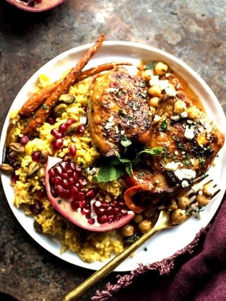 Crockpot Honey Harissa ChickenSource